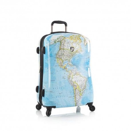 walizka MAPA ŚWIAT