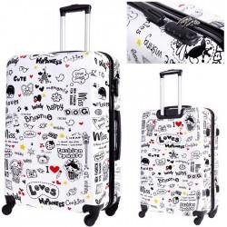 ŚREDNIA walizka - MODEL BL 07 LOVE