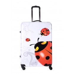 ŚREDNIA walizka BAGIA - MODEL BL 22 BIEDRONKA