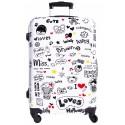 MAŁA walizka BAGIA - MODEL BL 07 LOVE