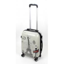 MAŁA walizka - WIEŻA EIFFLA MODEL 809 airtex
