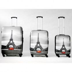 Komplet walizek - MADISSON model 16820 T WIEŻA EIFFLA